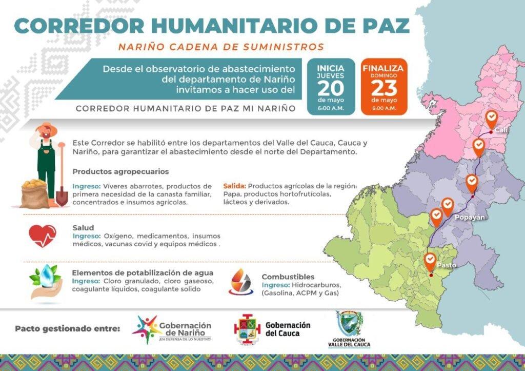 Corredor humanitario hasta este domingo - Noticias de Colombia