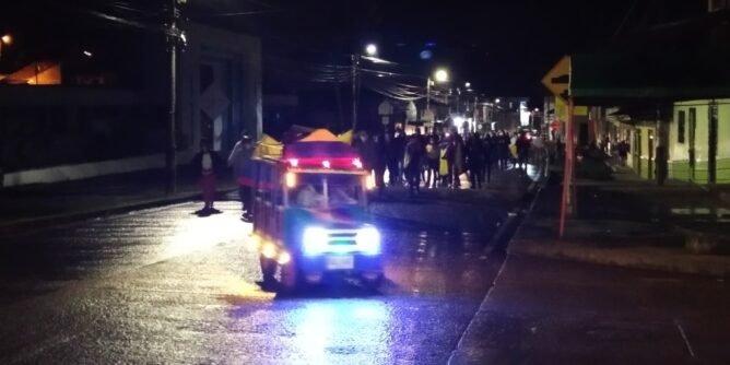 Manifestación en Sandoná a favor del paro nacional | Noticias de Buenaventura, Colombia y el Mundo