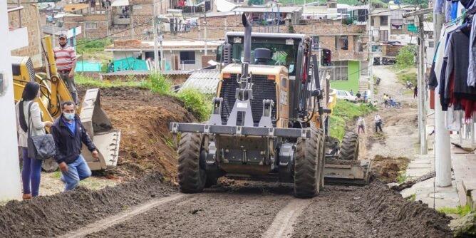 Reinició adecuación de calles sandoneñas | Noticias de Buenaventura, Colombia y el Mundo