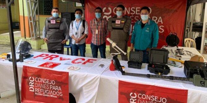 Dos municipios de Nariño libres de minas antipersona - Noticias de Colombia